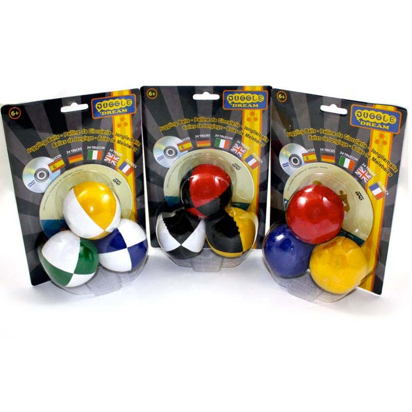 3 x Juggle Dream Thuds & DVD - Pack