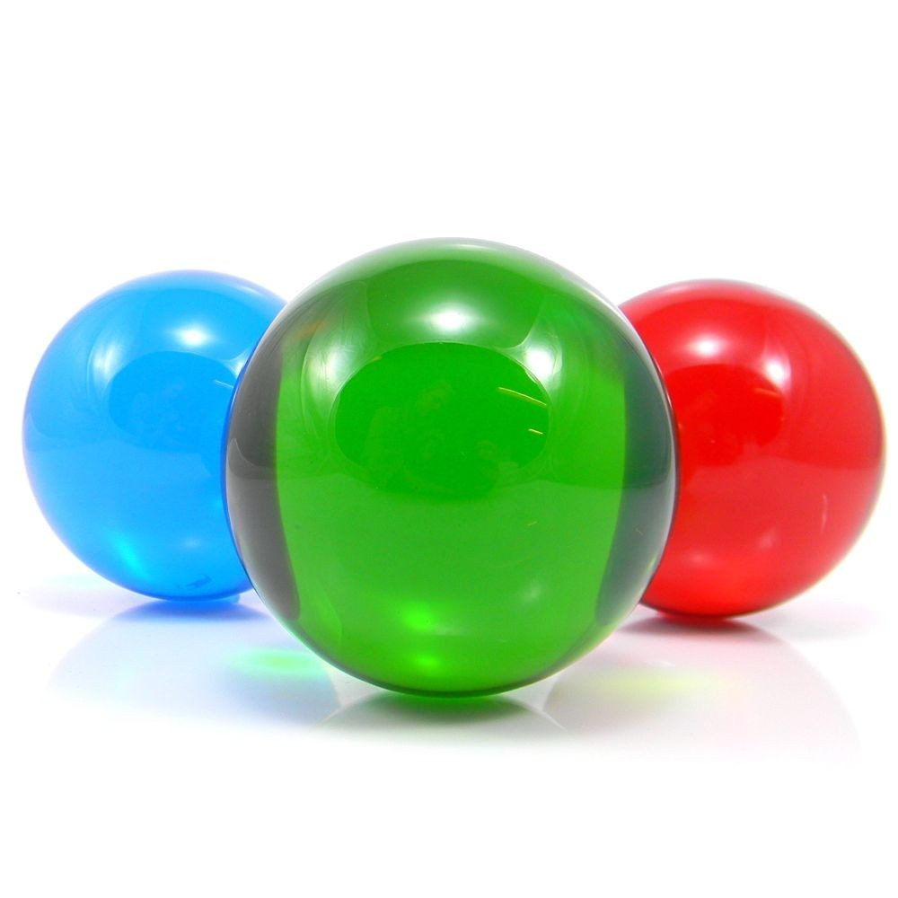 75mm Coloured Acrylic Contact Balls