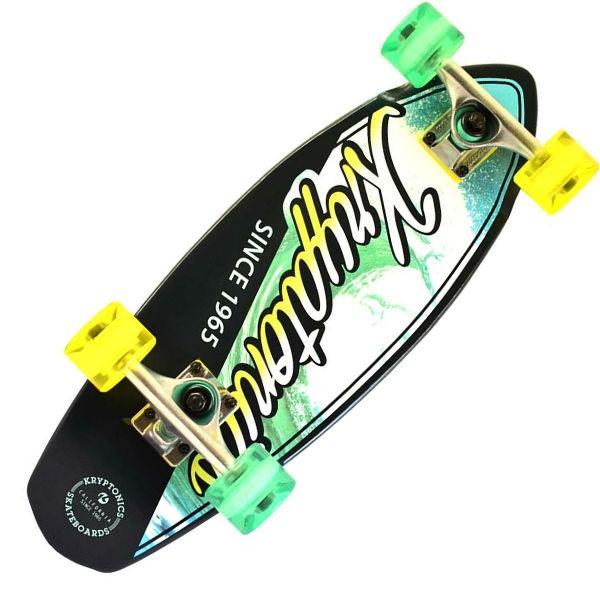 "Kryptonics 23"" Mini Fat ""Ocean Navy"" Cruiser Skateboard"