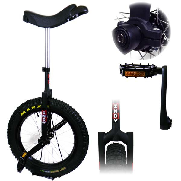 "Indy Trials Unicycle - 19"" Unicycle - 2 Colours Available"
