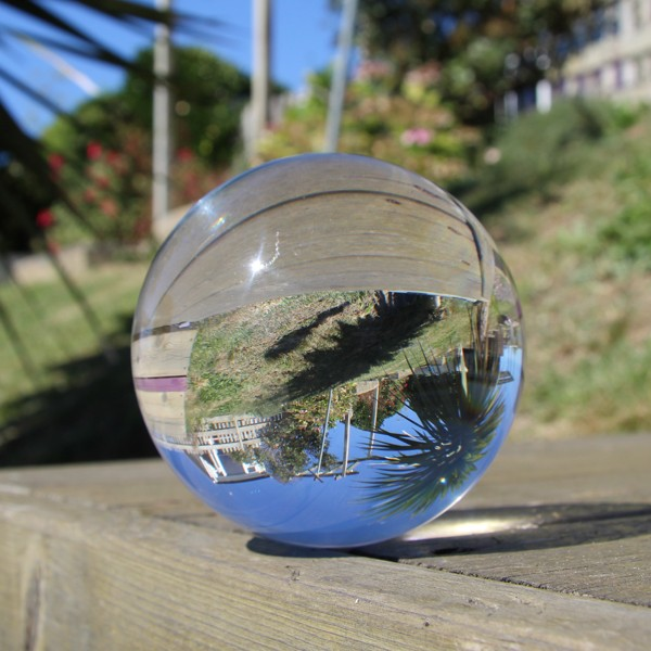 Juggle Dream 80mm Crystal Clear Acrylic Ball
