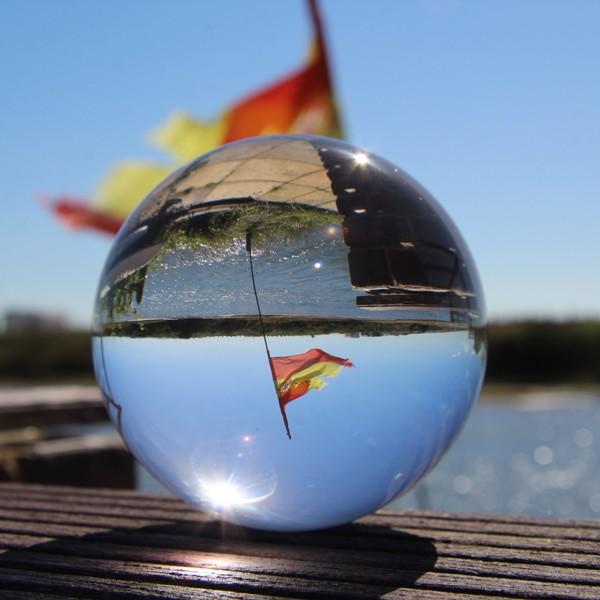 Juggle Dream 85mm Crystal Clear Acrylic Ball