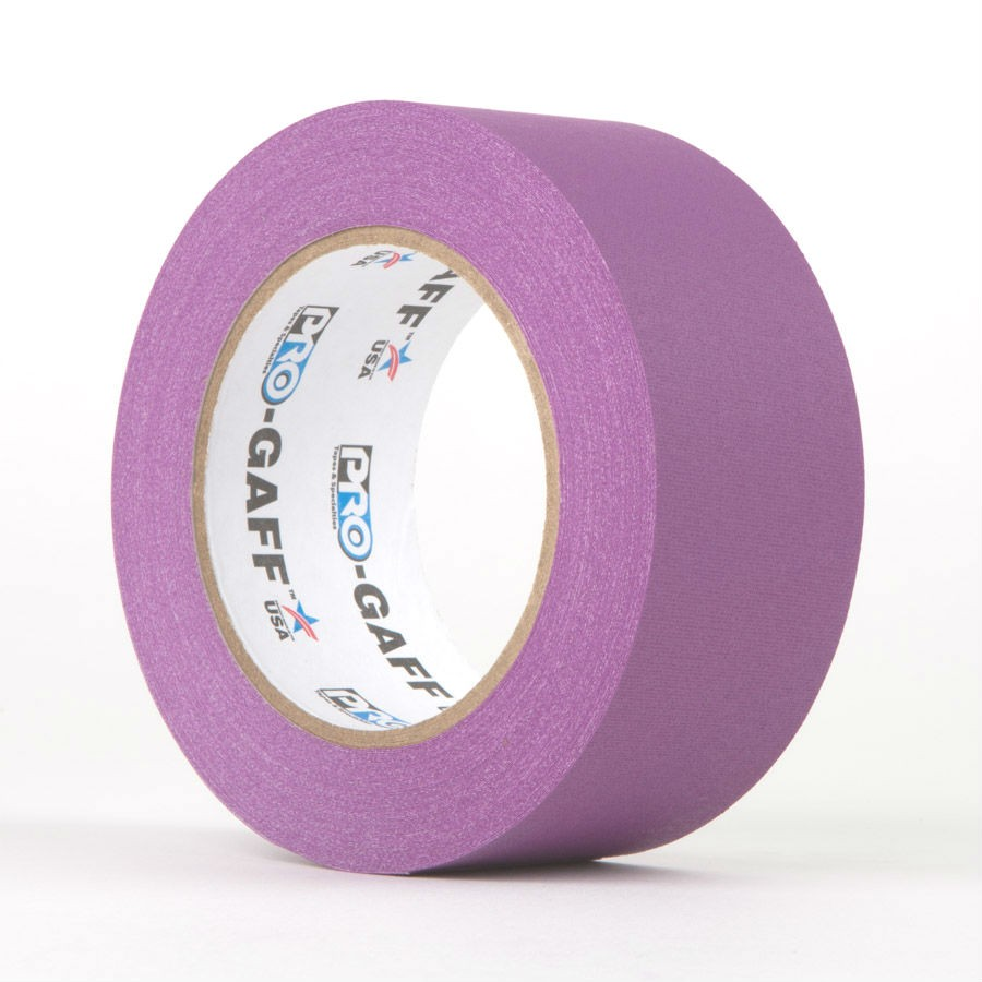 Pro Gaff Hoop Accessories   Matt Cloth Tape 48mm x 25m