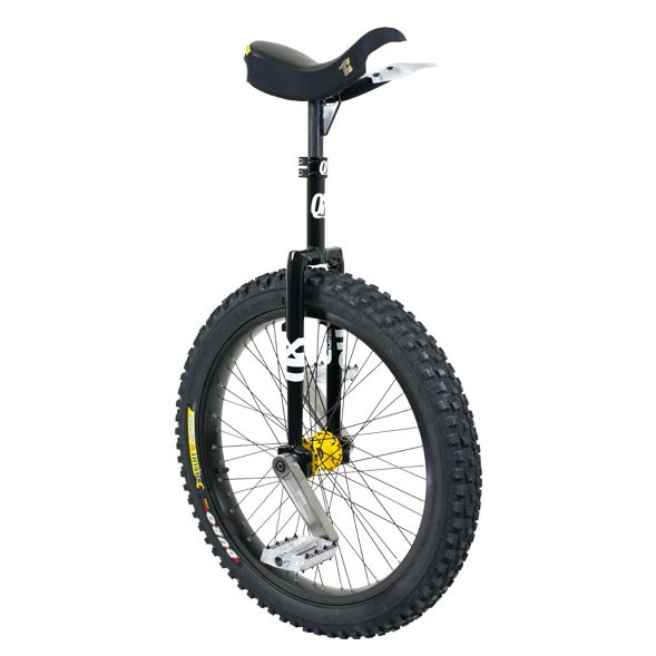 "QX Series Muni - 24"" - Black Unicycle"