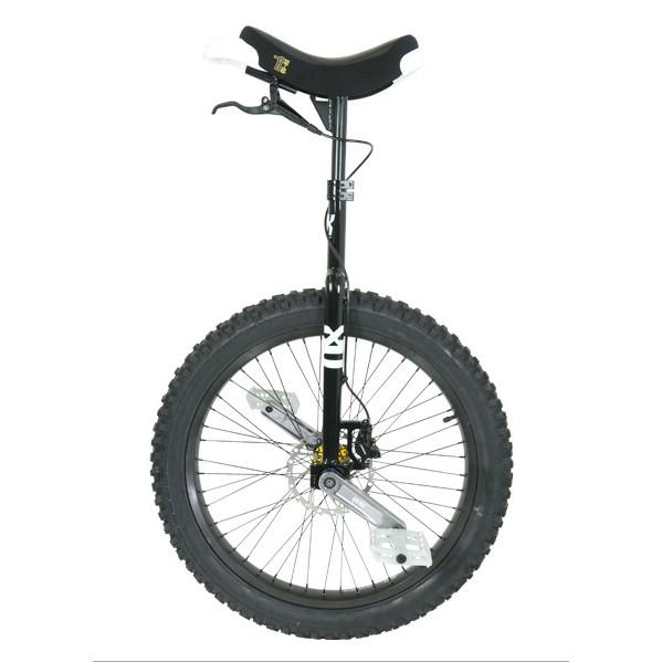 """QX Series Muni - 24"""" - Black - Disc Brake Unicycle"""