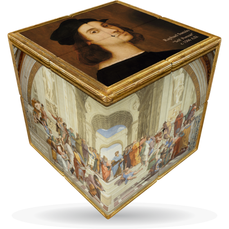 V-Cube Raphael - 3 x 3 Flat Puzzle Cube