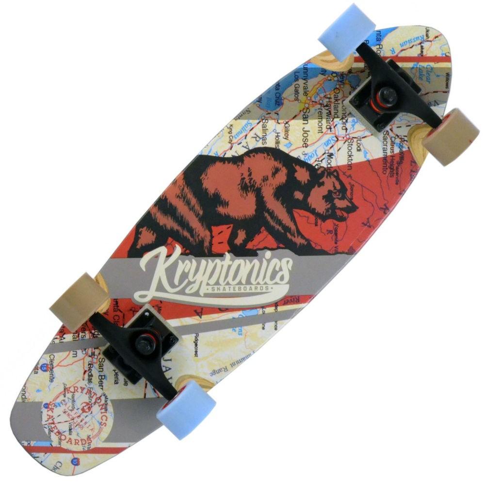 "Kryptonics 27"" Step-Up 'West Coast' Cruiser Skateboard"