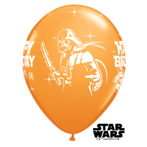 "Qualatex | 6 Classic 11"" Star Wars Party Balloons"