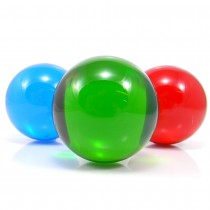 75mm Coloured Acrylic Contact Balls