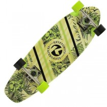 "Kryptonics 27"" Aloha Floral Cruiser Skateboard"