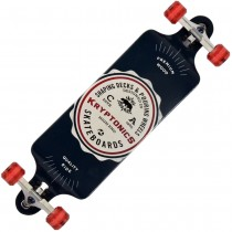 "Kryptonics 34"" 'American Label' Drop Down Longboard 