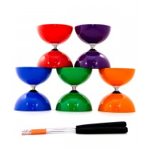 Juggle Dream Big Top Diabolo and Aluminium Hand Sticks