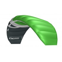 Cross Kites. Boarder 1.8 - FLURO GREEN. Inc' 2 line control bar.
