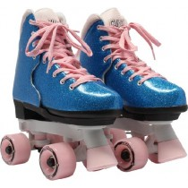 Circle Society - BLING Adjustable Quad Roller Skates - Bubblegum