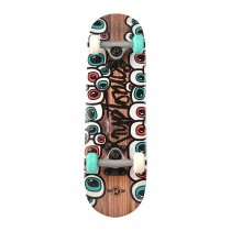 "Kryptonics 22"" Locker Crazy Eyes Skateboard"