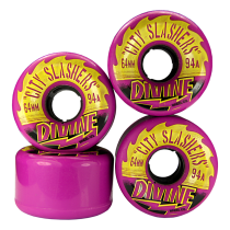 Divine Urethane City Slashers Wheels 64mm 94a
