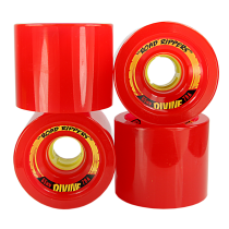Divine | Divine Urethane Road Rippers Wheels 65mm 78a Red