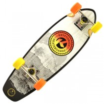 "Kryptonics 27"" 'Grey Fade' Cruiser Skateboard"