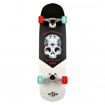 "Kryptonics 31"" Hybird Series ""Inked Skull"" Skateboard"