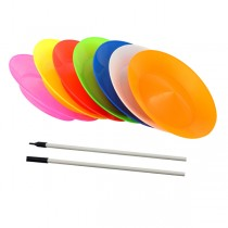 Juggle Dream Spinning Plate & Plastic Flexi Stick