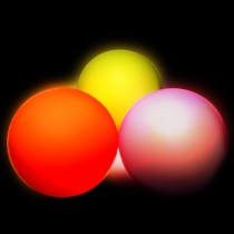 Juggle Dream 95mm LED Contact Ball - Twist