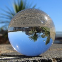 Juggle Dream 90mm Crystal Clear Acrylic Ball