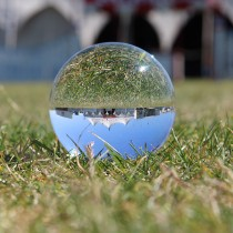 Juggle Dream Crystal Clear Acrylic Ball 75mm 262g