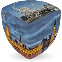 V-Cube LONDON - 2 x 2 Pillow Cube