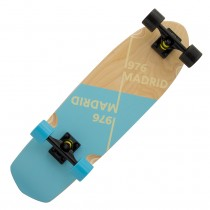 Madrid Picket 'Slant' Blue Cruiser Complete Longboard