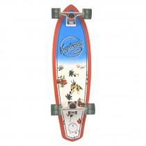 Kryptonics Maui Pattern Mini Cruiser