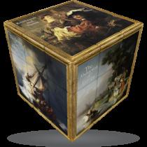 V-Cube Rembrandt - 3 x 3 Flat Puzzle Cube