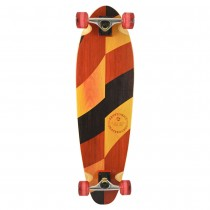 "Kryptonics 33"" 'Split Grains' Longboard"
