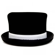 Juggle Dream Tumbler Manipulator Top Hat - White Trim