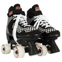 Circle Society - STREET Adjustable Quad Roller Skates - Tuxedo