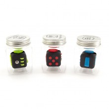 Fidget Cube in jar