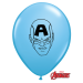 "Qualatex 5"" Avengers Assemble Balloons - Assorted Colours"